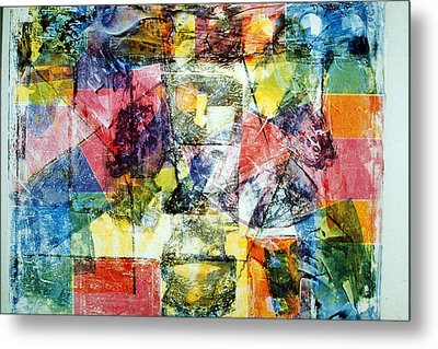 Abstract Painting Metal Print by David Deak