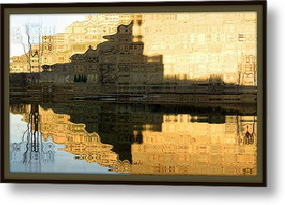Abstract Reflections Metal Print