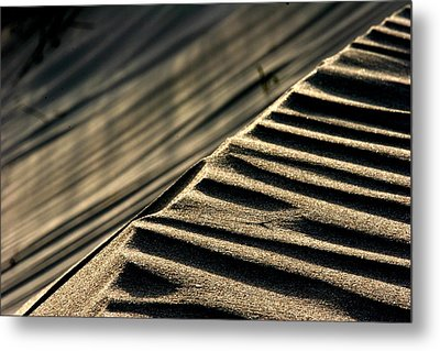 Abstract Sand 1 Metal Print by Arie Arik Chen