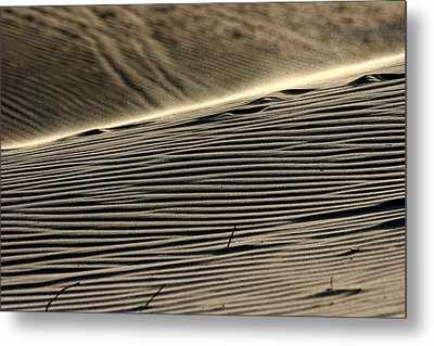Abstract Sand 2 Metal Print by Arie Arik Chen