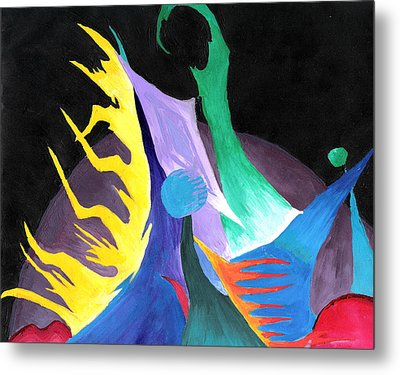 Abstract Space Metal Print by Jera Sky