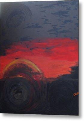 Abstract View Metal Print by Lisa Kramer
