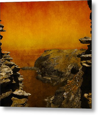 Abstract View Metal Print by Svetlana Sewell