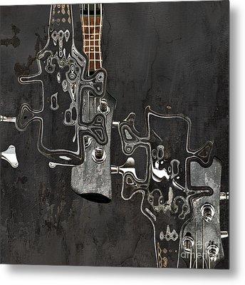 Abstrait En Do Majeur A2 Metal Print by Aimelle