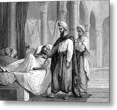 Abulcasis, Islamic Physician Metal Print by