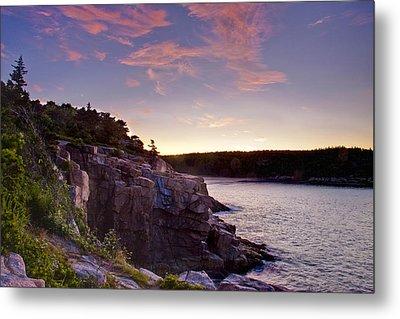 Acadian Sunrise Metal Print by Jim Neumann