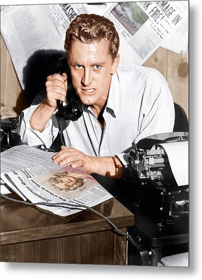 Ace In The Hole, Kirk Douglas, 1951 Metal Print by Everett