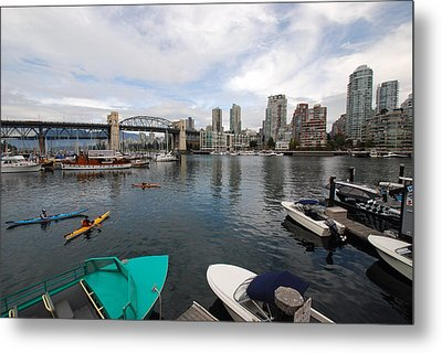 Metal Print featuring the photograph Across False Creek by John Schneider