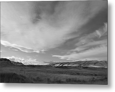 Metal Print featuring the photograph Across The Valley by Kathleen Grace