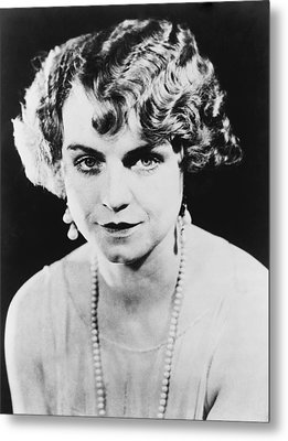 Actress Dorothy King Was A Broadway Metal Print by Everett