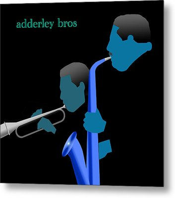 Adderley Brothers Metal Print by Victor Bailey