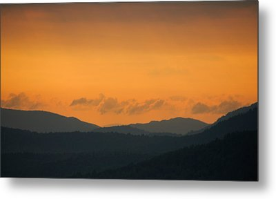 Metal Print featuring the photograph Adirondacks by Steven Richman
