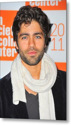 Adrian Grenier At Arrivals For George Metal Print by Everett