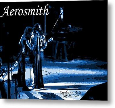 Aerosmith In Spokane 12c Metal Print by Ben Upham