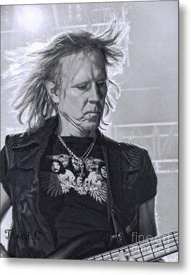 Aerosmith Metal Print by Traci Cottingham