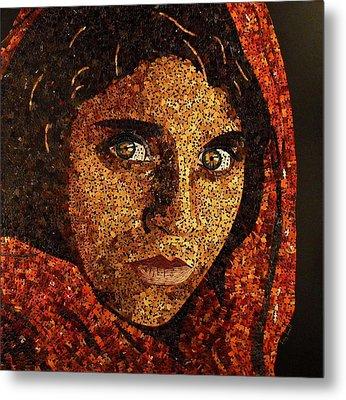 Afghan Girl II Metal Print