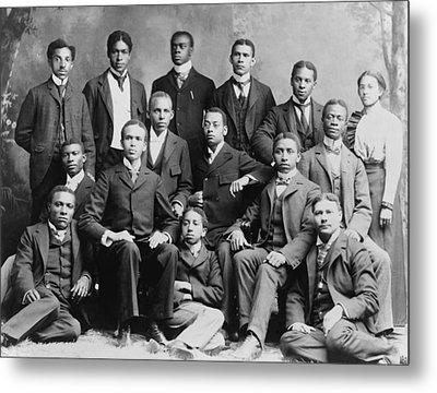 African American Academic Students Metal Print by Everett