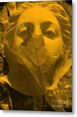 Afrodita  Autum Metal Print by Yury Bashkin