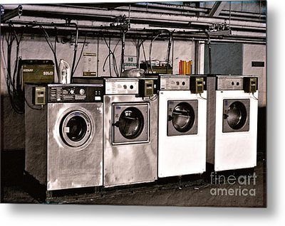 After Enlightenment The Laundry. Metal Print by Gwyn Newcombe