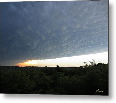 After The Tornado Metal Print by Andrea Lawrence