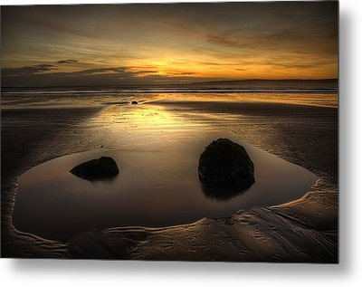 After Tide Out Metal Print by Svetlana Sewell