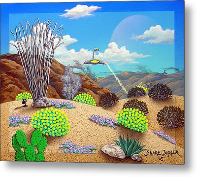 Afternoon Attack Metal Print by Snake Jagger