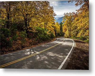 Metal Print featuring the photograph Afternoon Drive by Randy Wood