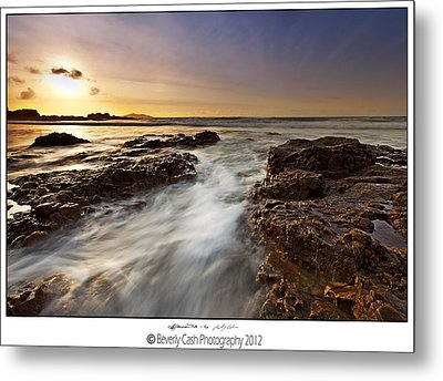 Metal Print featuring the photograph Afternoon Tide by Beverly Cash