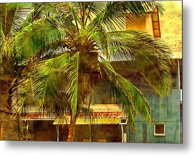 Aged Hawaiian Metal Print by Paulette B Wright