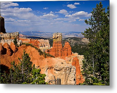 Agua Canyon Bryce Canyon National Park Metal Print by Greg Norrell