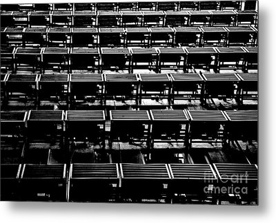 Air-conditioned Nightmare Metal Print by Dean Harte