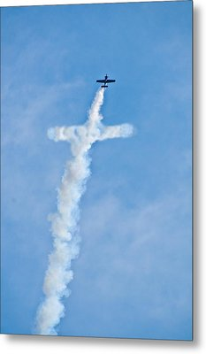 Air Cross Metal Print