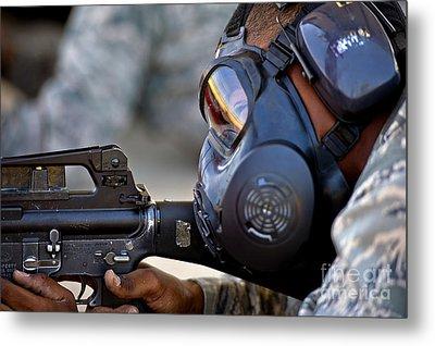 Air Force Basic Military Training Metal Print by Stocktrek Images