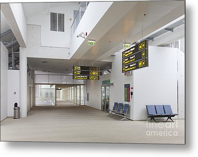 Airport Concourse Metal Print by Jaak Nilson