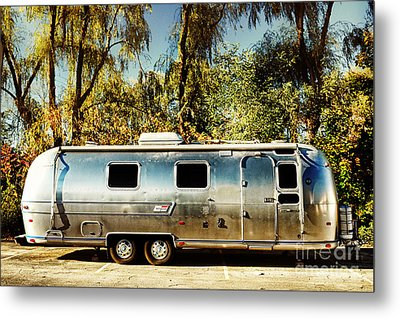 Airstream Metal Print by HD Connelly