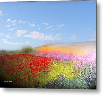 Metal Print featuring the photograph Ajofrin En Primavera by Alfonso Garcia