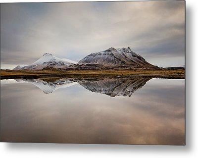 Akrafjall, Icelandic Mountain Metal Print by Johann S. Karlsson
