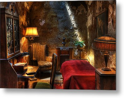 Al Capone's Cell - Easton State - Scarface - The Syndicate - The Chicago Outfit - Capones  Metal Print