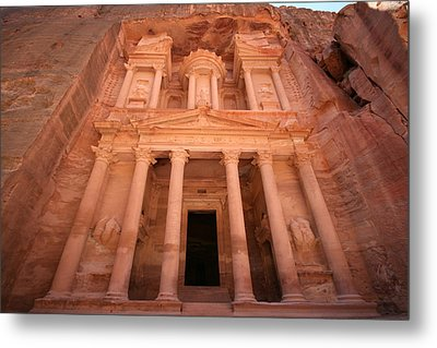 Al Khazneh (the Treasury), Petra, Jordan Metal Print by Joe & Clair Carnegie / Libyan Soup