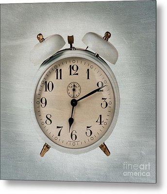 Alarm Clock Metal Print by Bernard Jaubert