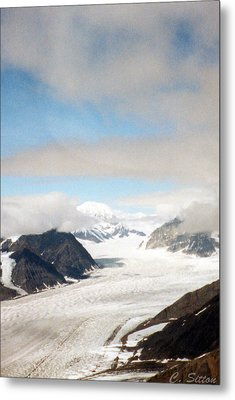 Alaskan Glacier Metal Print by C Sitton