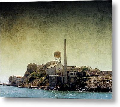 Alcatraz Metal Print by Ellen Heaverlo