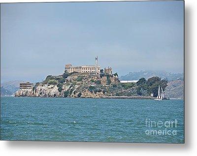 Alcatraz Island Metal Print by Cassie Marie Photography