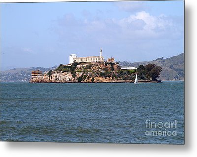 Alcatraz Island In San Francisco California . South Side . 7d14288 Metal Print by Wingsdomain Art and Photography