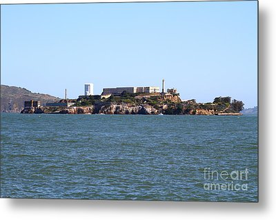 Alcatraz Island In San Francisco California . West Side . 7d14007 Metal Print by Wingsdomain Art and Photography