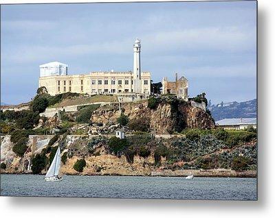 Alcatraz Island Metal Print by Luiz Felipe Castro