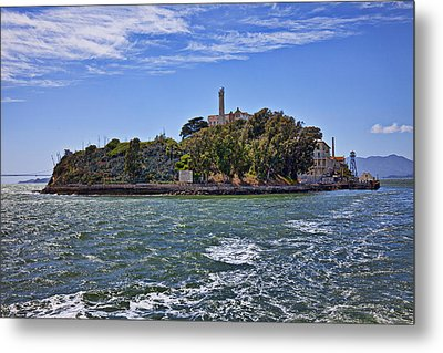 Alcatraz Island San Francisco Metal Print by Garry Gay