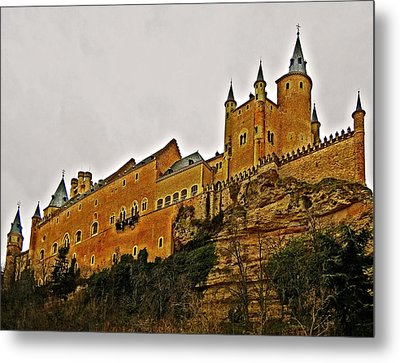 Alcazar De Segovia - Spain Metal Print by Juergen Weiss