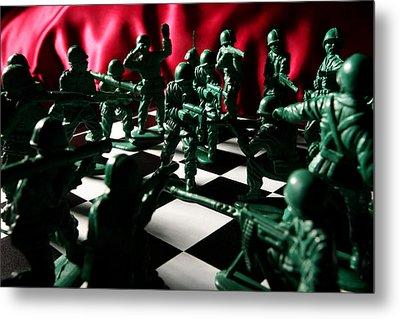 Alekhine's Gun Metal Print by Lon Casler Bixby