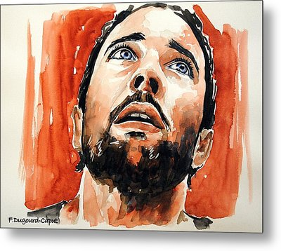 Alex O'loughlin Metal Print by Francoise Dugourd-Caput